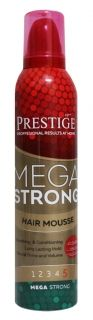 PRESTIGE MEGA STRONG Hair Mousse пяна за коса 250 мл