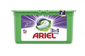 ARIEL COLOR ГЕЛ КАПСУЛИ  3 in 1 Lavender  40 ПРАНЕТА