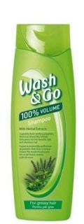 Wash & Go With Herbal Fresh Шампоан за мазна коса 200мл