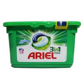 ARIEL КАПСУЛИ MOUNTAIN SPRING 12 БР*27g/r БЯЛО