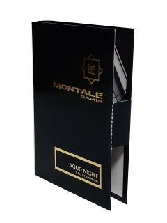 MONTALE AOUD NIGHT Eau De Parfum EDP Vial Sample 2 мл.