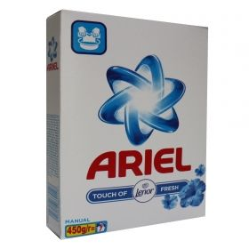 ARIEL TOUCH OF LENOR ПРАХ ЗА РЪЧНО ПРАНЕ 450гр