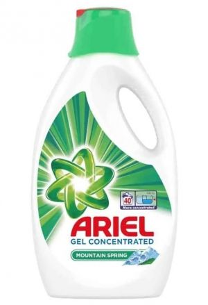 Ariel Gel Concentrated Moutain Spring 40 пранета 2200 мл