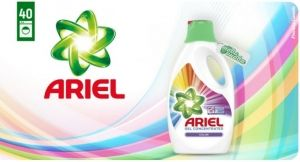 Ariel Gel Concentrated Color 40 пранета 2200 мл