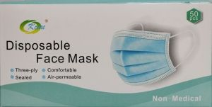 Предпазна маска  Disposable Face Mask 50 бр.