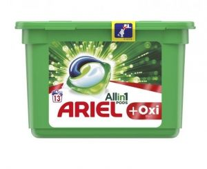 Ariel + Oxi efect All in 1 Капсули за пране 13 *30 g/r  390g