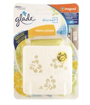 АРОМАТИЗАТОР GLADE DISCREET Fresh Lemon   8гр