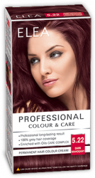 Elea Proffesional Colour&Care Боя за коса - № 5/22 Тъмен махагон