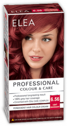 Elea Proffesional Colour&Care Боя за коса - № 6/56 Светъл махагон
