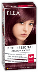 Elea Proffesional Colour&Care Боя за коса  - № 5/56 Махагон