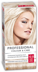 Elea Proffesional Colour&Care Боя за коса- № 12/0 Ултра светло рус