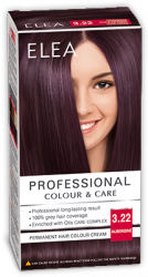 Elea Proffesional Colour&Care Боя за коса- № 3/22 Патладжан