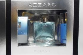 SET AZZARO CHROME M EDT50+ASB+STIC комплект
