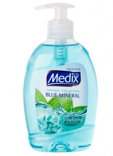 Medix Natural Collection Blue Mineral течен сапун помпа 400мл.