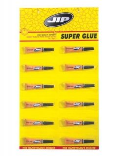 ЛЕПИЛО JIP-SUPER GLUE-12БР.