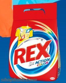 REX 3XACTION COLOR ПРАХ ЗА ПРАНЕ 2кг