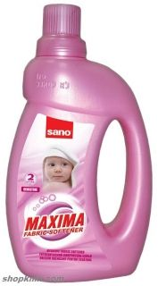 SANO Maxima Hygienic Fabric Softener Sensitive ОМЕКОТИТЕЛ 2L