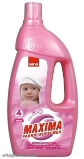 SANO Maxima Hygienic Fabric Softener Sensitive ОМЕКОТИТЕЛ 4L