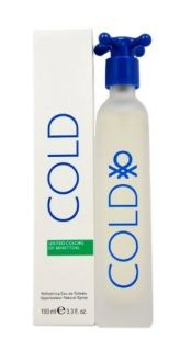 UNITED COLORS OF BENETTON COLD ТОАЛЕТНА ВОДА 100ML