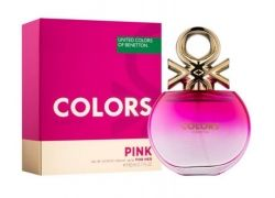 Benetton Colors Pink EDT 80 ml.