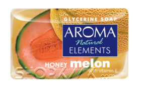 AROMA NATURAL ELEMENTS HONEY MELON САПУН 100гр