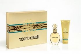 Roberto Cavalli gift set  75ml.EDP+75ml.Body Lotion  for women