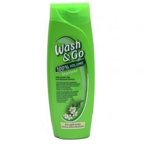 Wash & Go With Green tea  & Blossom шампоан 400мл