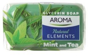 Сапун Aroma Natural elements Mint and Tea 100 гр.