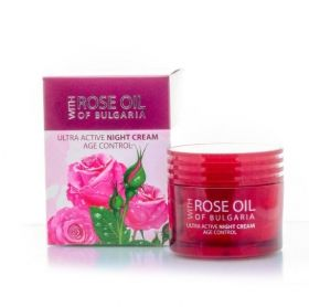 Biofresh Rose Оil Оf Bulgaria Ultra Active Night Cream Age Control 50 ml Ултраактивен нощен крем 50 мл