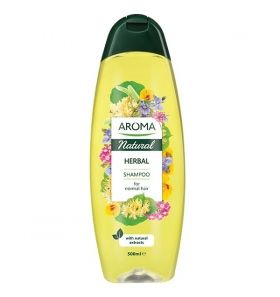 Aroma Natural Herbal Shampoo Шампоан за нормална коса 500 мл
