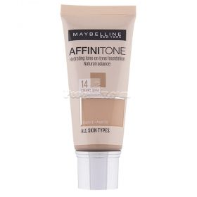 Maybelline New York Affinitone фон дьо тен 14 Creamy Beige  30мл