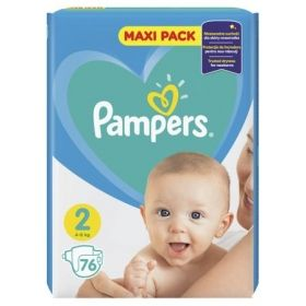 Pampers New Baby 2 4-8кг 76бр