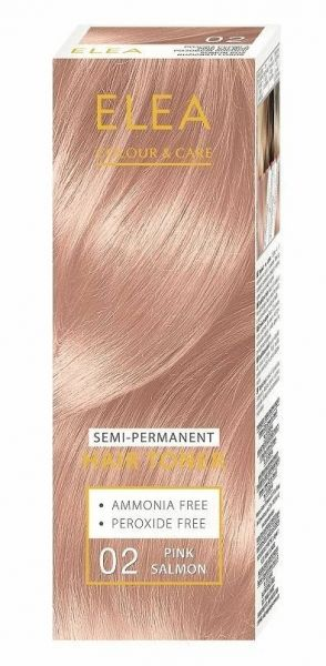 ELEA Colour & Care Hair Toner Pink Salmon № 02