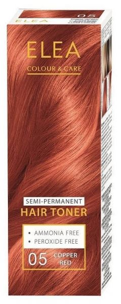 ELEA Colour & Care Hair Toner Copper Red № 05
