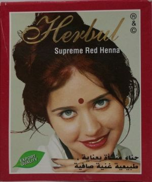 КЪНА HERBAL SUPREME RED HENNA 6 бр