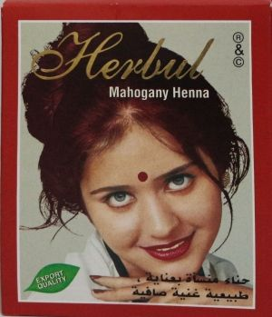 КЪНА HERBAL MAHOGANY  HENNA 6 бр в кутия