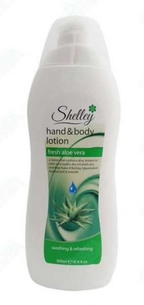 Shelly Hand & Body Lotion Fresh Aloe Vera Лосион за ръце и тяло 500 ml