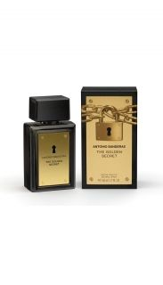 ANTONIO BANDERAS GOLDEN SECRET MEN EDT 100ml